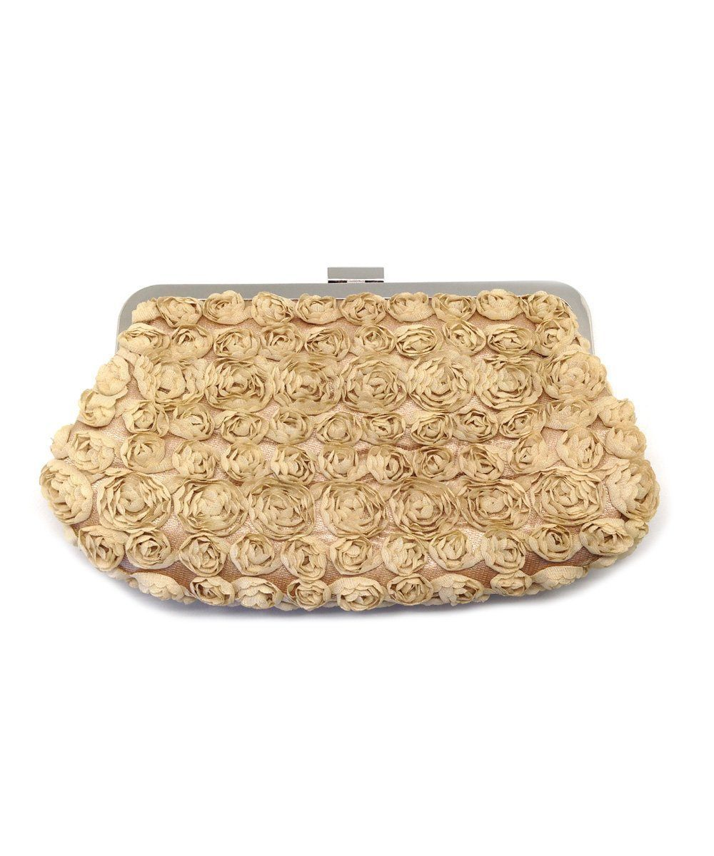 Ivory roses small pouch - Editions LESSisRARE