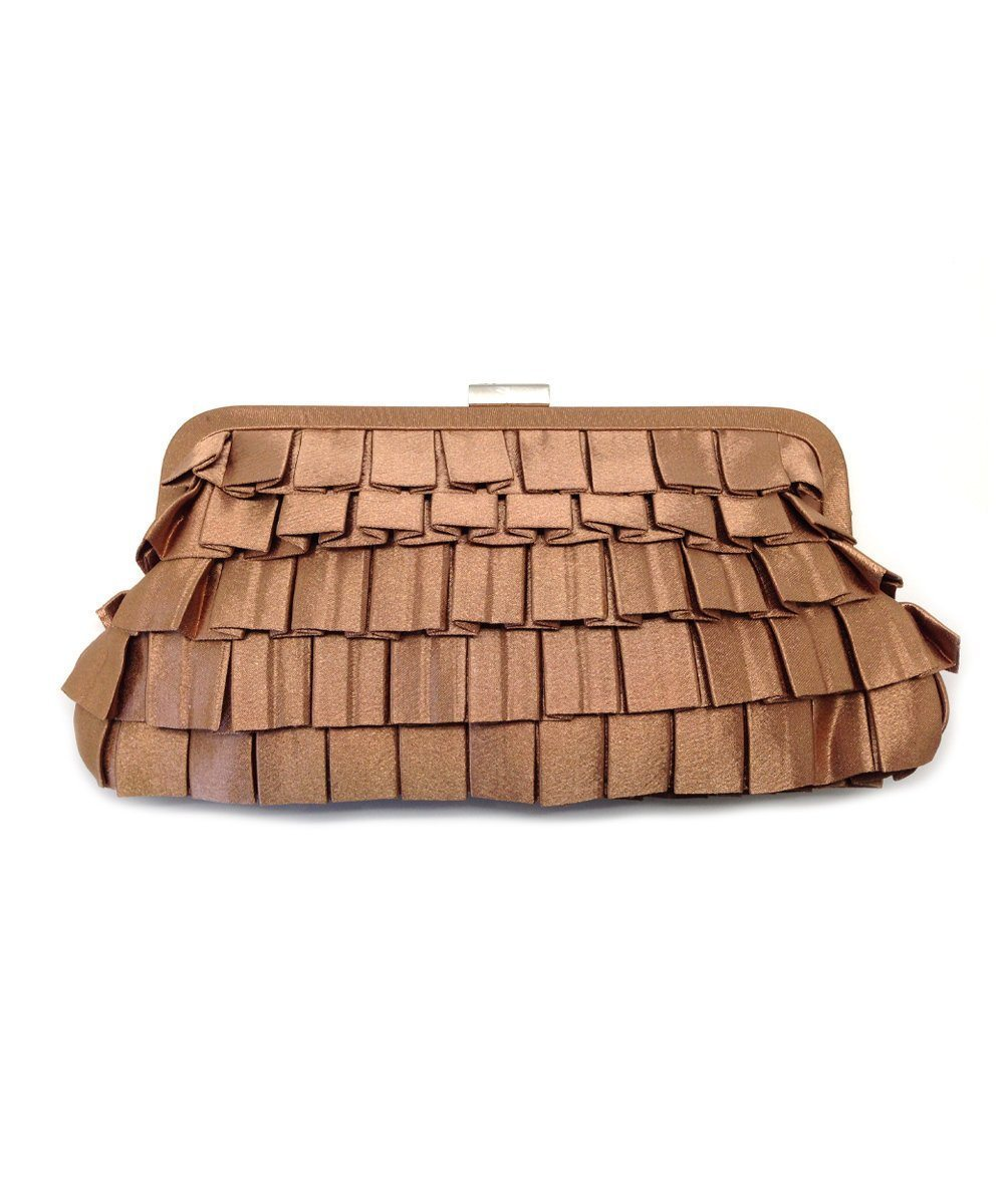 evening-bag-pleated-beige Editions LESSisRARE