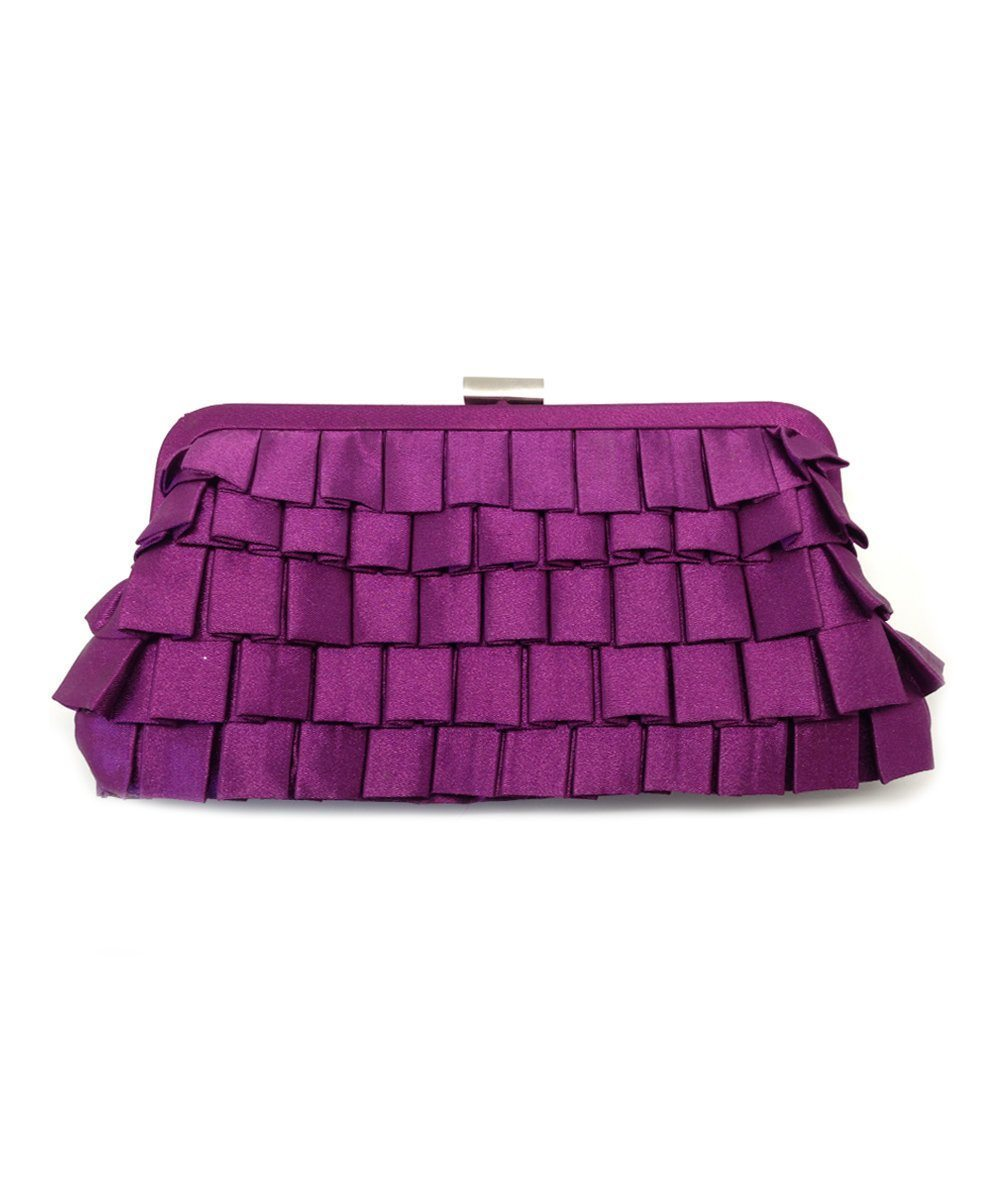 Purple Evening Pouch - Editions LESSisRARE