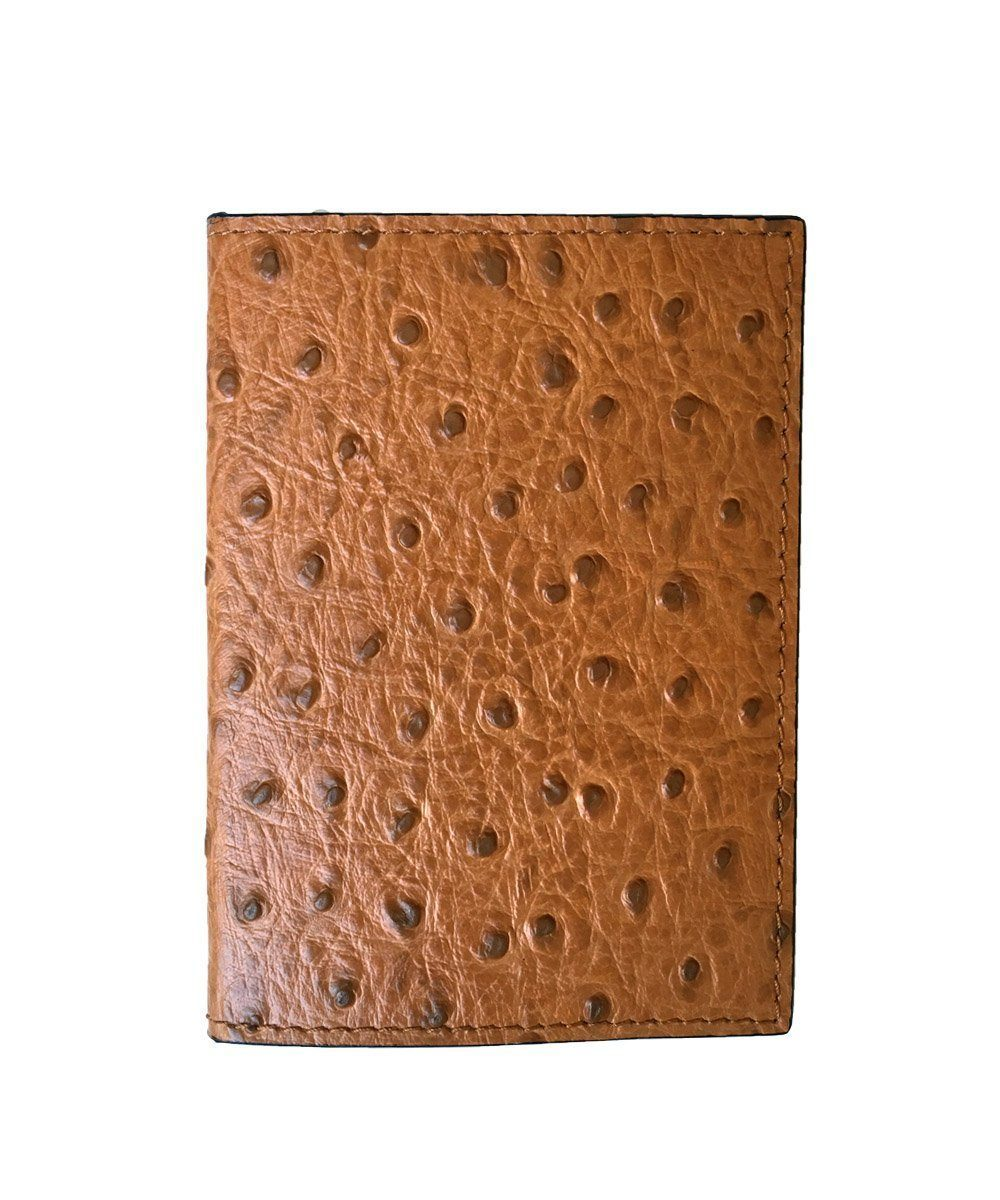 Passport holder in beige leather - Bhome