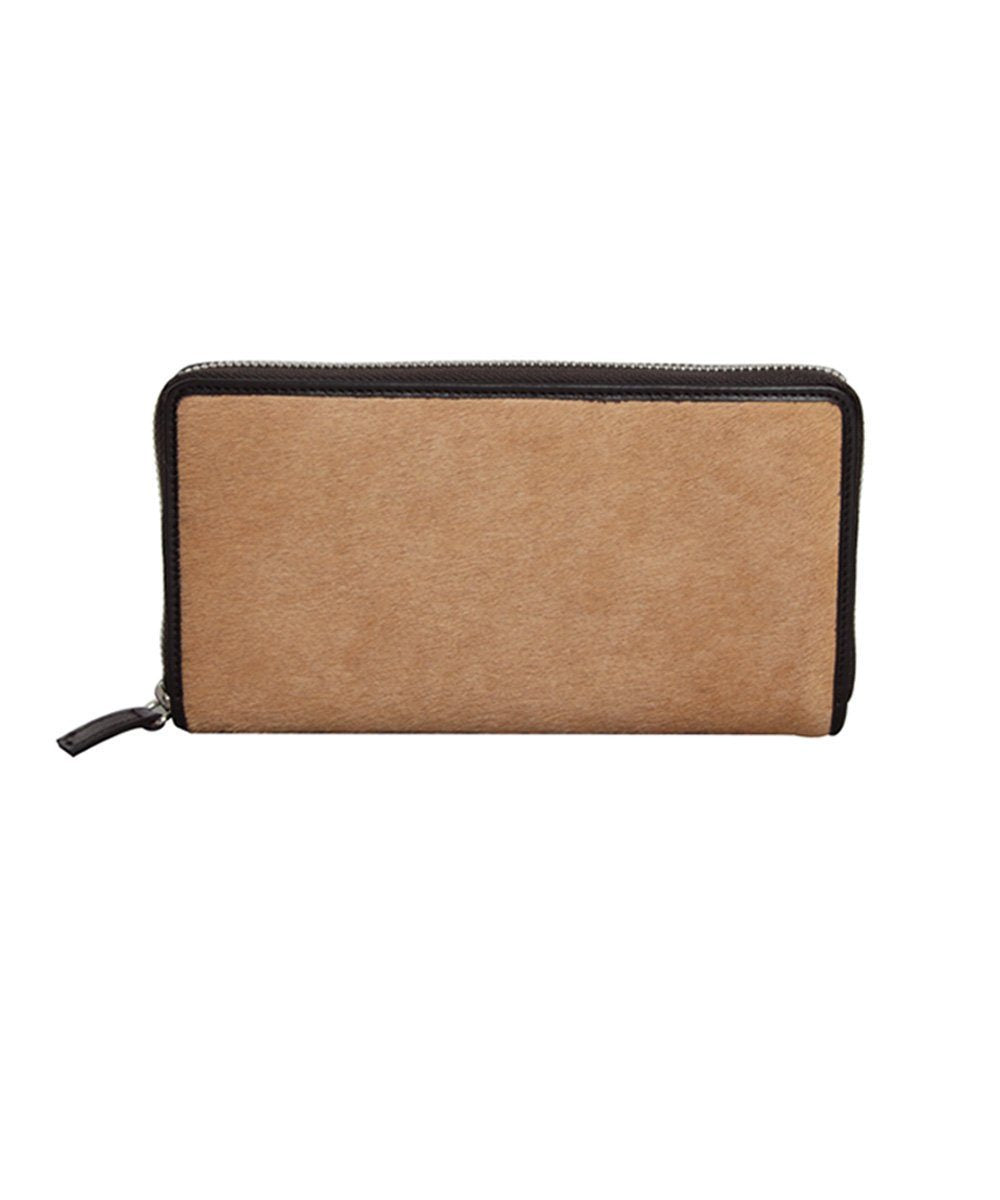 Calf-like calfskin wallet - Bhome