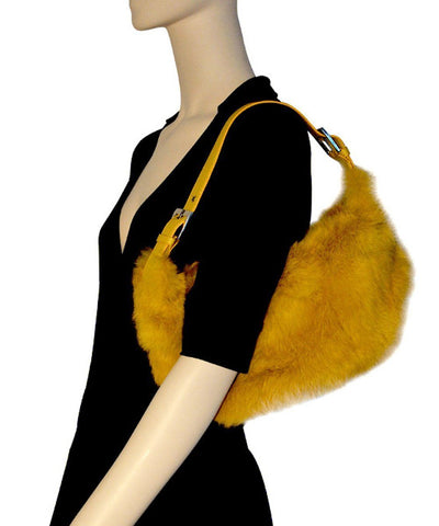 bag-fur-yellow-worn Editions LESSisRARE