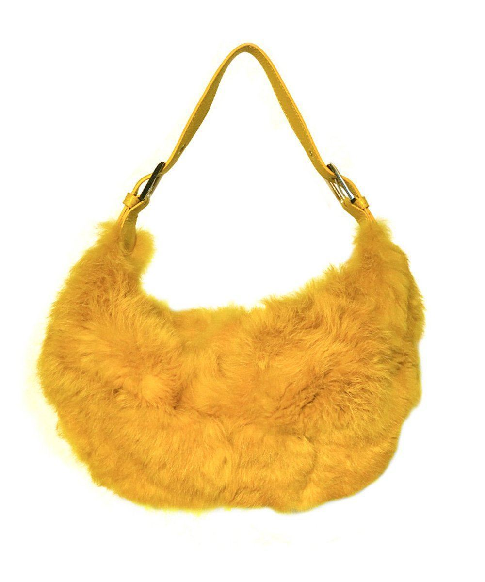 bag-fur-yellow Editions LESSisRARE