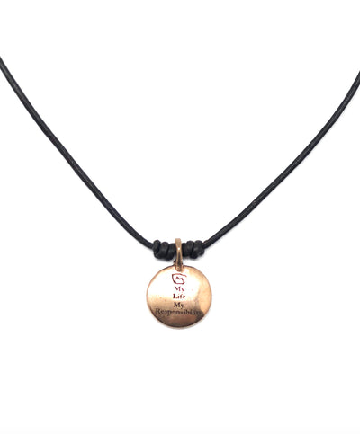 Necklace Life bronze - Catherine Michiels