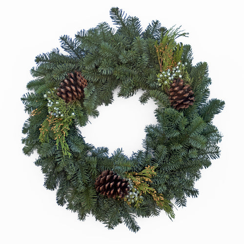 Decorated Mix Wreath - 5 per case