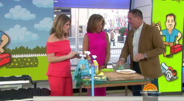 e-cloth's Appearance on the Today Show!