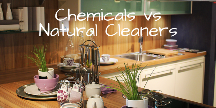 Chemicals vs. Natural Cleaners | Home Wellness