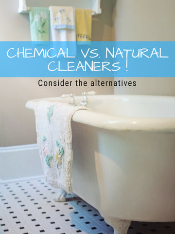 Chemical vs. Natural Cleaners | Home Wellness