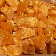 1/2 lb Calcite Orange Natural Rough Raw Stone for Healing