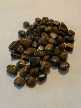 1/4 lb bulk tigers eye crystal wholesale tumbled polished healing stones