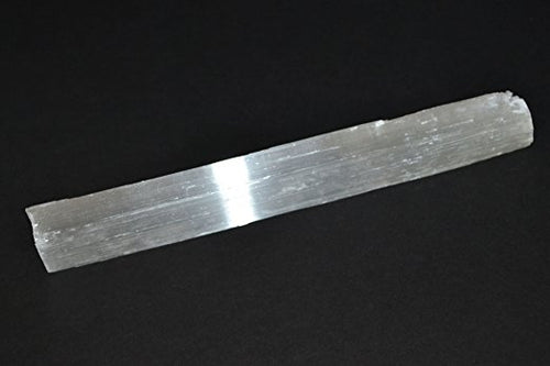 Single Moroccan Selenite Stick 6 to 9 inches Long