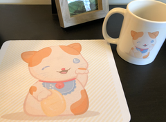 mousepad and mug