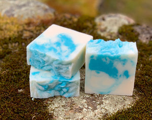 Peppermint Handcrafted Soap with Aloe and Kaolin Clay
