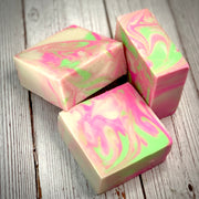 Pink Citrus Handcrafted Soap with Aloe and Kaolin Clay