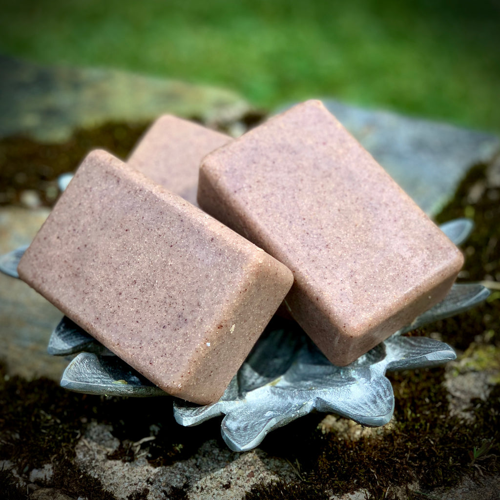 Amber Pumice Soap Handmade  - Foot Soap - Kitchen Soap - Workshop Soap