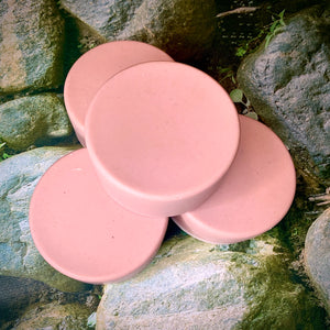Calamine and Shea Butter - All Natural Handmade Soap with Lavender and Tea Tree Essential Oils