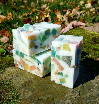 Jelly Nougat Handmade Triple Butter Vegan Soap