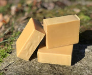 Orange Patchouli Shampoo and Body Bar - All Natural Handmade with Jojoba Oil and Apple Cider Vinegar