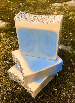Boyfriend Handmade Triple Butter Vegan Soap with Mango, Shea and Cocoa Butter