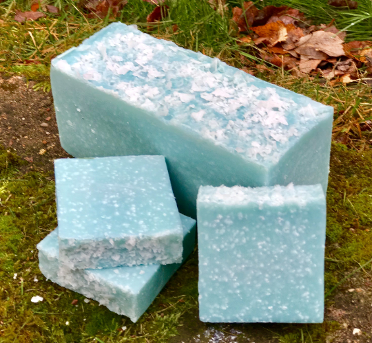 Daily Shower Handmade Soap with Aloe and Sea Salt