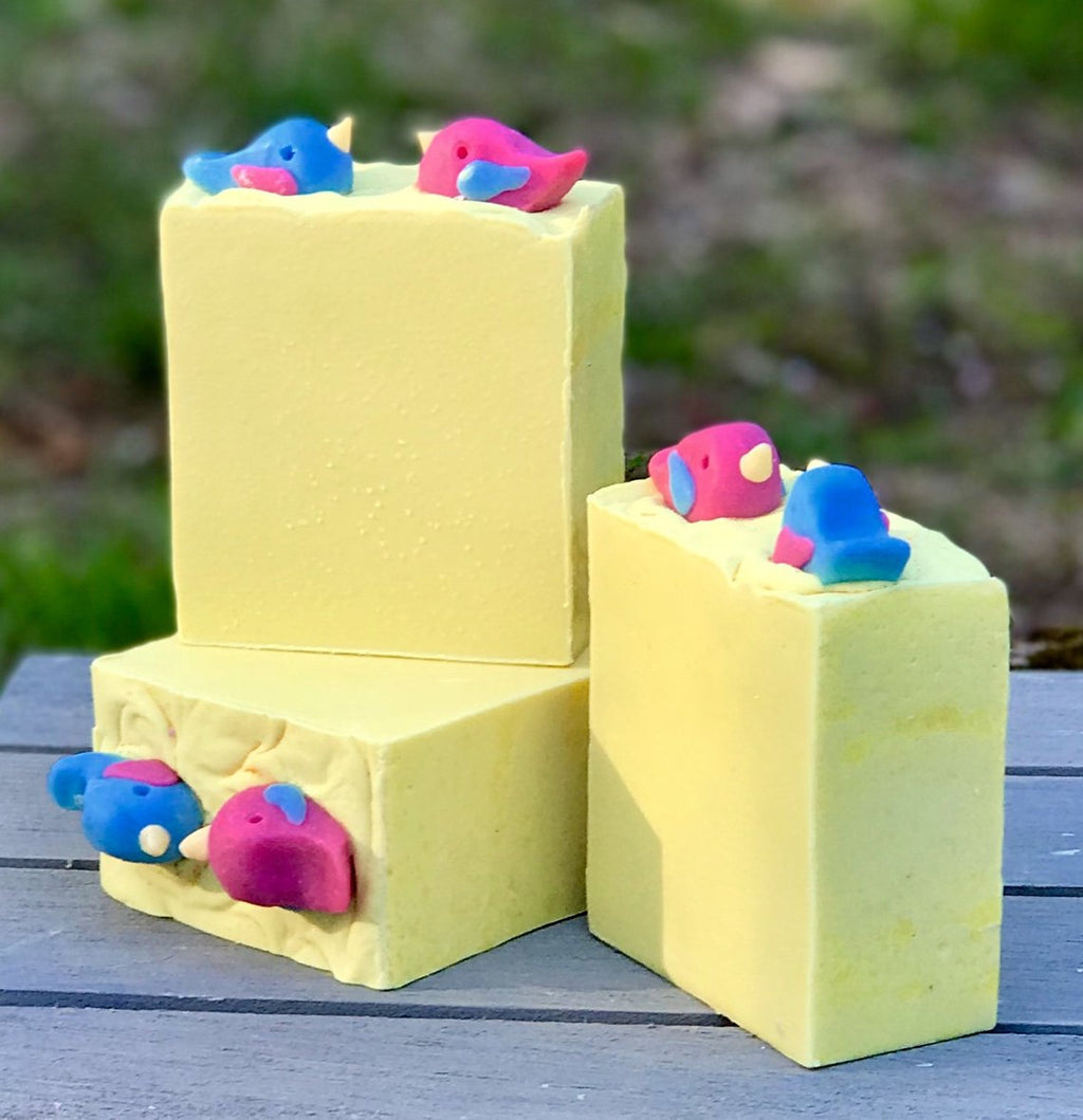 Early Bird Handmade All Natural Soap with Aloe and Kaolin Clay