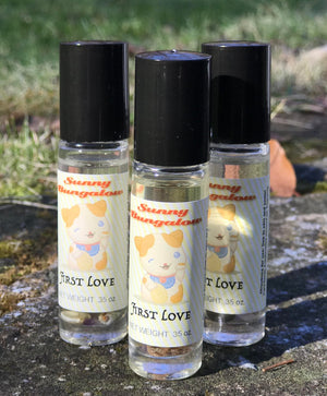 First Love  Rollerball Perfume - Fragrance Roll On - Purse and Travel Sized