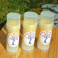 BIG Hippy Daze All Natural Solid Lotion Bar with Shea Butter and Organic Beeswax in Twist Up Tube
