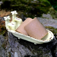 Lavender with Comfrey and Calendula Himalayan Salt Soap - Detox Soap-Vegan Soap with Aloe Vera -Lavender Essential Oil
