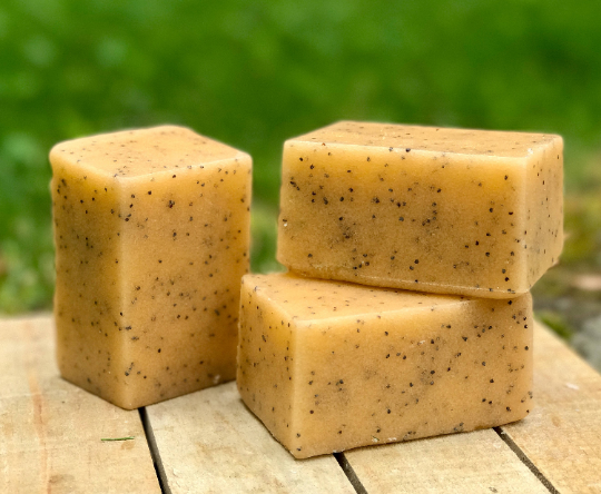 Butt Naked Solid Sugar Bar Scrub - All Natural Handmade Vegan with Avocado Oil