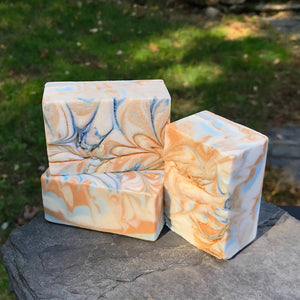 Peppermint Handmade All Natural Soap with Aloe and Kaolin Clay