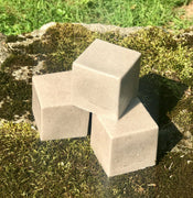 Sexy American Girlfriend Mega 7 oz  Pumice Soap Block Handmade Shea Butter Vegan Soap - Foot Soap - Kitchen Soap - Workshop Soap
