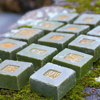 Summer Soap - All Natural Handmade Seaweed Soap with Lemongrass Essential Oil