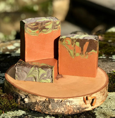 Terra Firma Handmade All Natural Soap with Kaolin Clay and Aloe Vera