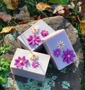 Violets Are You!  Handmade Soap with Kaolin Clay and Aloe
