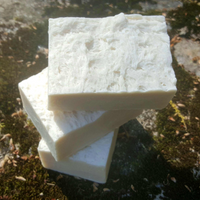 White Gardenia Handmade All Natural Soap with Bamboo Silk and Aloe Vera - Vegan