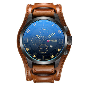 Mandron - Leather Sport Watch