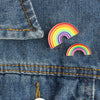 Rainbow Gay Pride Emaye Pin