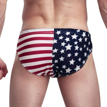 Ameríku - Stuttermabolur - Gay Men's Swimwear