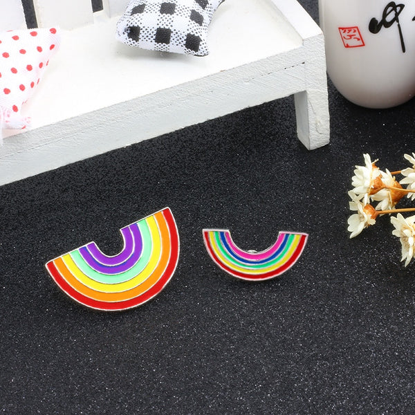 Rainbow Gay Pride Enamel Pin