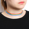 Flag Of Choker - Rainbow Necklace