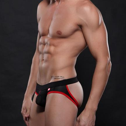 Sexy Open Back Jockstrap - Gay Underwear