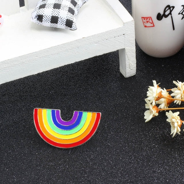 Pin smalto arcobaleno Gay Pride