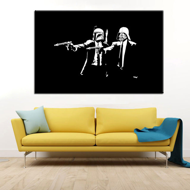 "Banksy x ""Pulp Fiction"" - Supply Surf"