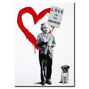 "Banksy x ""Love Is The Answer 2"" - Supply Surf"