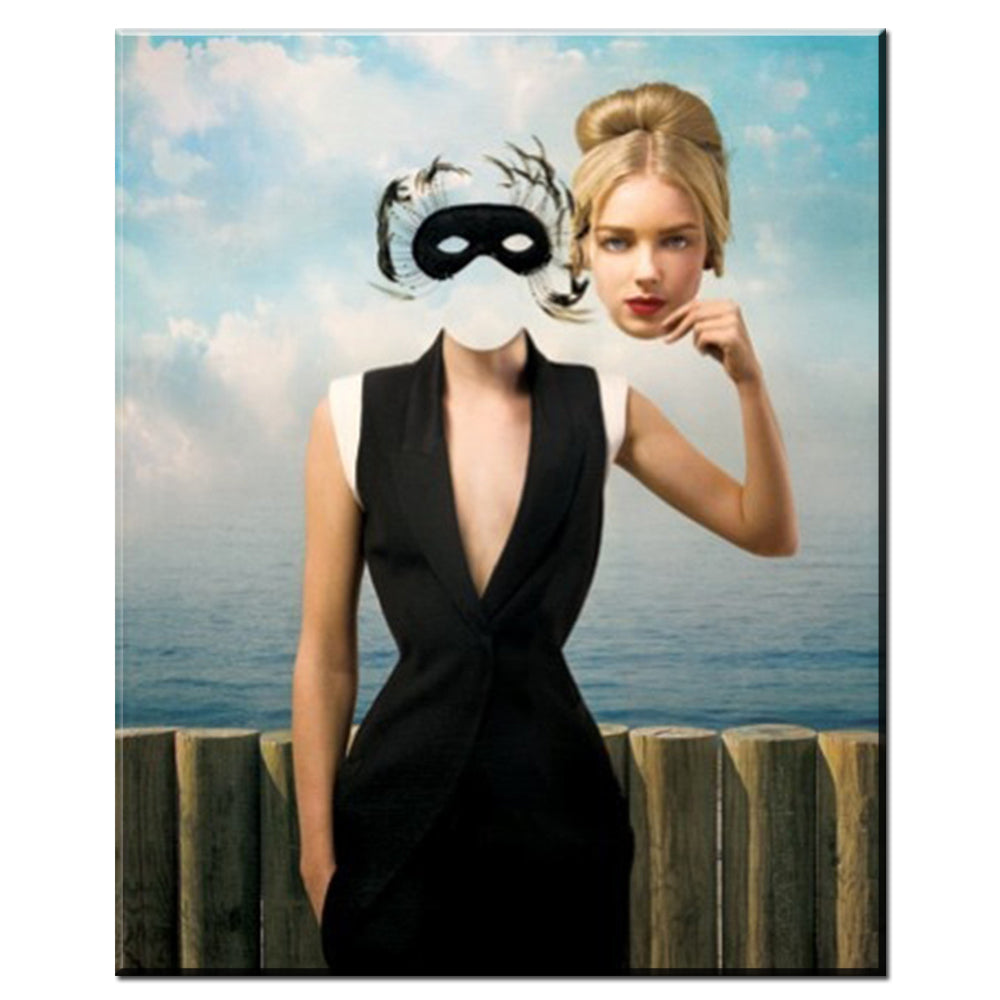 "Rene Magritte x ""Masquerade"" - Supply Surf"