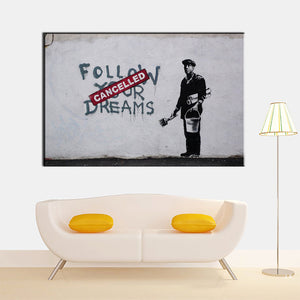 "Banksy x ""Follow your Dreams 2"" - Supply Surf"
