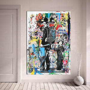 "Banksy x ""Charlie Chaplin"" - Supply Surf"