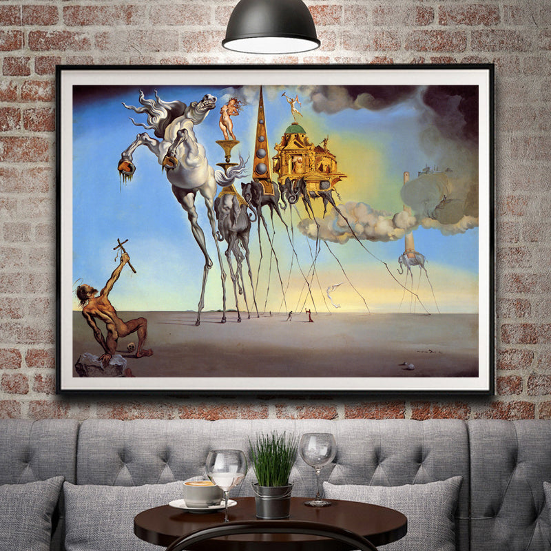 "Salvador Dali x ""Temptation"" - Supply Surf"