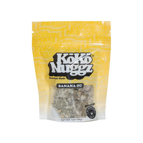 Banana OG Chocolate Buds (1oz) by KokoNuggz - Koko Nuggz Europe