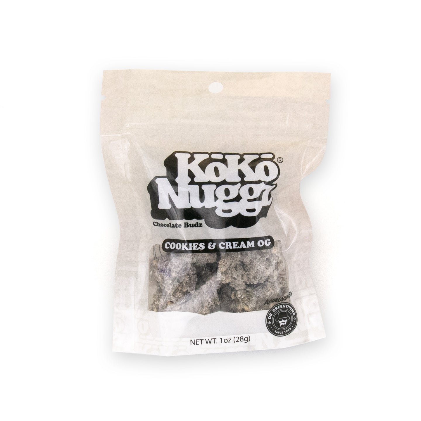 Cookies & Cream OG Chocolate Buds (1oz) by KokoNuggz - Koko Nuggz Europe